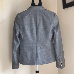 J. Crew lightweight grey wool blazer